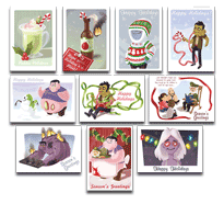 Left 4 Dead Holiday Cards