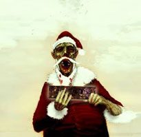 Zombie-Santa-with-Fruitcake